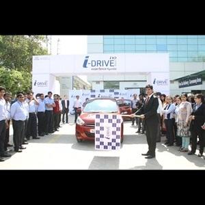 Hyundai i-Tech i10 flagged-off in New Delhi