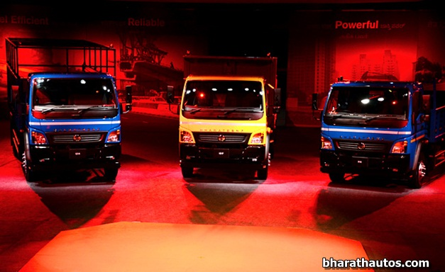 BharatBenz rolls out its light-duty trucks in India