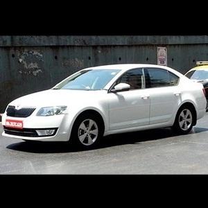 2013 Skoda Octavia caught testing in Mumbai
