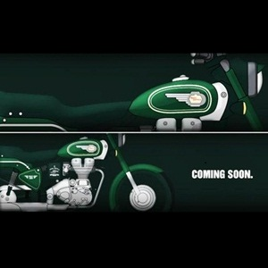 All-new Royal Enfield Bullet 500 in Forest Green teased
