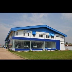 Tata Motors 3-S dealership in Yangon, Myanmar