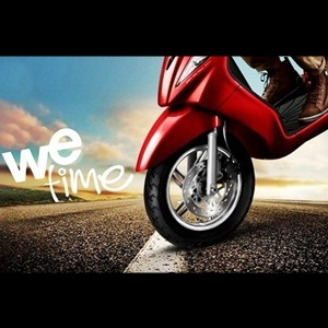 TVS Wego with front disc brake option
