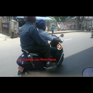 Spy Shots - 'Male-specific' TVS 125cc scooter caught testing in Chennai