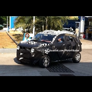 Spy Shots - Mahindra S101 Sub-Compact SUV, Mahindra's smallest creation yet!