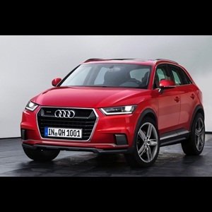 Photo Rendering - Audi Q1 Hybrid expected to give 3 Digit Km/litre