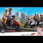Yamaha India launched Ray-Z scooter for men priced at Rs. 48,555