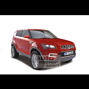 Photo Rendering - Maruti XA-Alpha production version could look like this