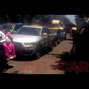 Spy Shots - Audi's locally assembled entry-level Q3 spotted in Mumbai