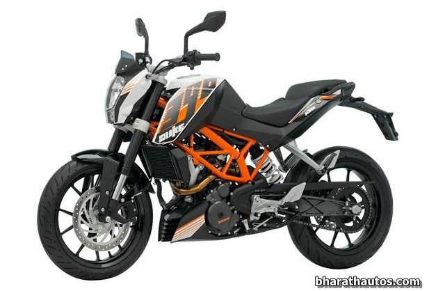 KTM Duke 390 launched in India at an introductory price of Rs. 1.8