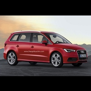 Photo Renderings - Audi to introduce A3 based MPV Concept in 2014
