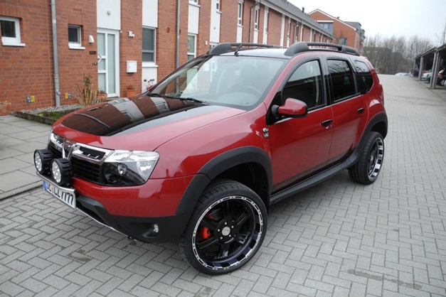 lzparts modified renault duster looks more attractive. Black Bedroom Furniture Sets. Home Design Ideas