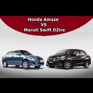 Maruti Swift Dzire VS Honda Amaze