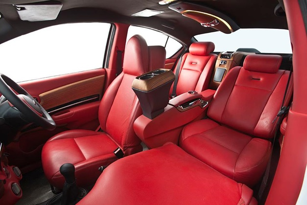 Nissan Sunny modified by DC offers Merc S-Class like interior