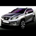 Nissan Terrano SUV teased in sketches - debut this-year itself!