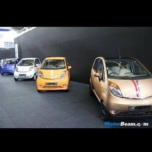 2013 Tata Nano gets 4 new body kits