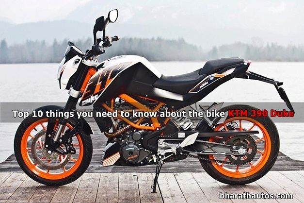 Top 10 things you need to know about the KTM 390 Duke