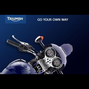 Triumph Motorcycles confirms its launch in India