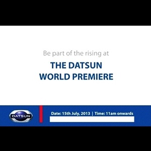 Datsun to open its doors for the world in India on 15th July