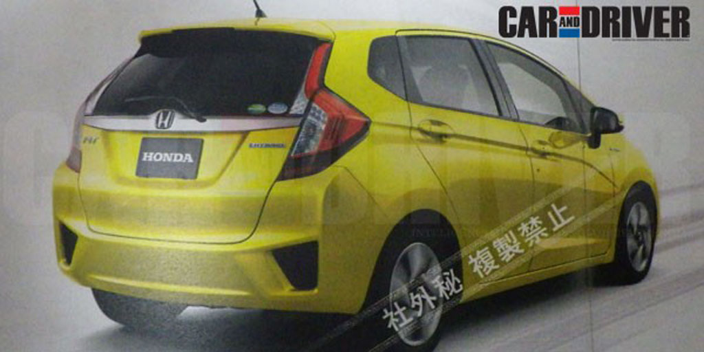 Next Generation Honda Jazz 2014 The Next Generation Jazz Will