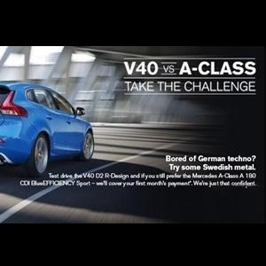 Vovlo-V40-versus-Mercedes-A-Class-India