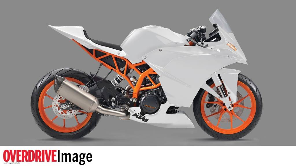 Bike stickers design pulsar 220 - July 19 2013 Exclusive Rendering Of How Ktm Rc 390 Would Look