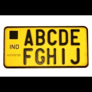 High-Security-Number-Plate-For-Commercial-Vehicles
