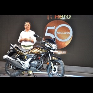 Mr__Pawan_MunjaL_50_millionth_bike
