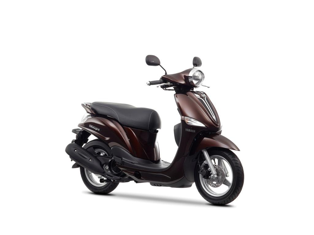 yamaha introduces all new d elight 114cc scooter for european markets. Black Bedroom Furniture Sets. Home Design Ideas