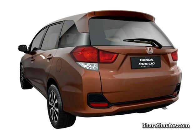 Honda-Brio-Mobilio-MPV-India-RearEnd