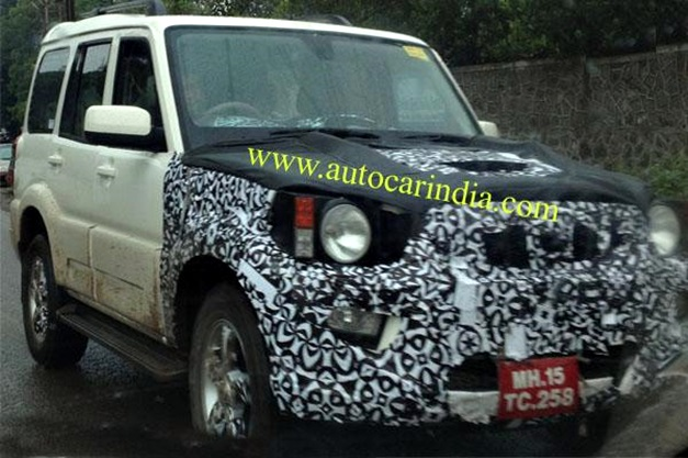 Mahindra scorpio gets one more facelift before new model in 2017 18