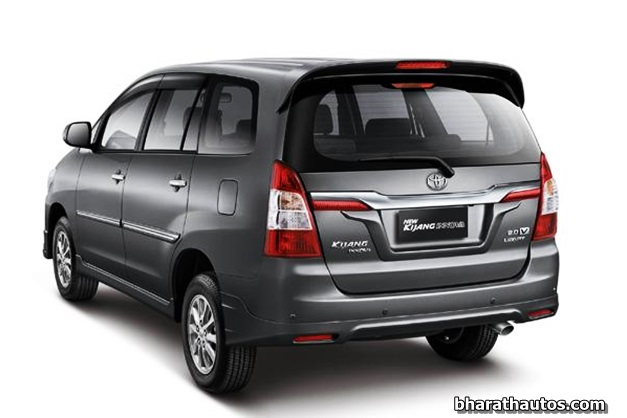 Toyota India All Set To Launch The Facelifted Innova This