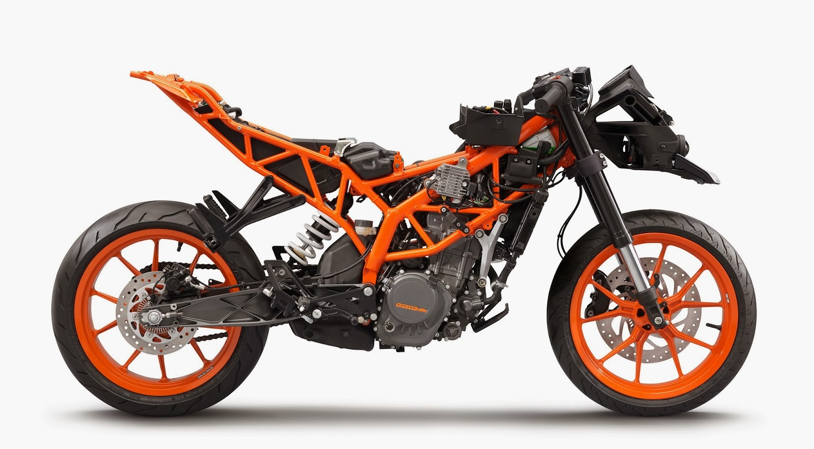New Ktm Scooty Price >> KTM RC 125/200/390: 30 high-resolution photos released