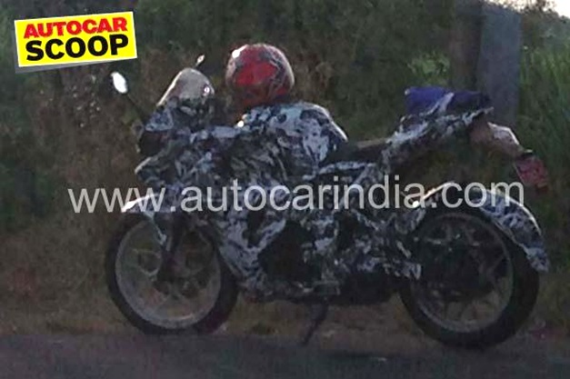 Pulsar 200SS Spied - Pic Courtesy AutoCar India