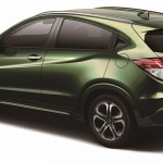 honda-vezel-compact-suv-india-dark-green-view