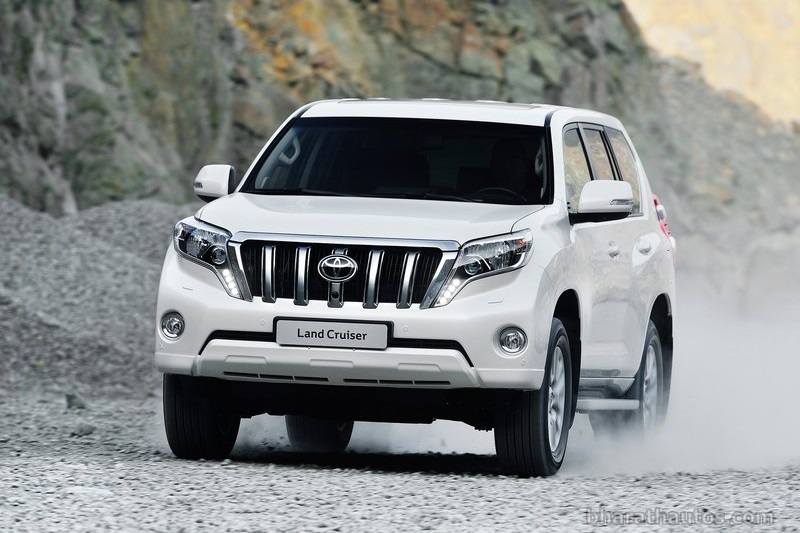 Toyota Land Cruiser 2014 White 2014 Toyota Land Cruiser Prado