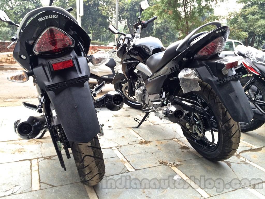 250cc suzuki inazuma gw250 rear