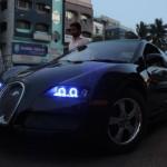 maruti-esteem-modified-bugatti-veyron-angel-lights