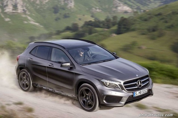 Mercedes benz india to dazzle with excellence at auto expo for How much is a mercedes benz suv