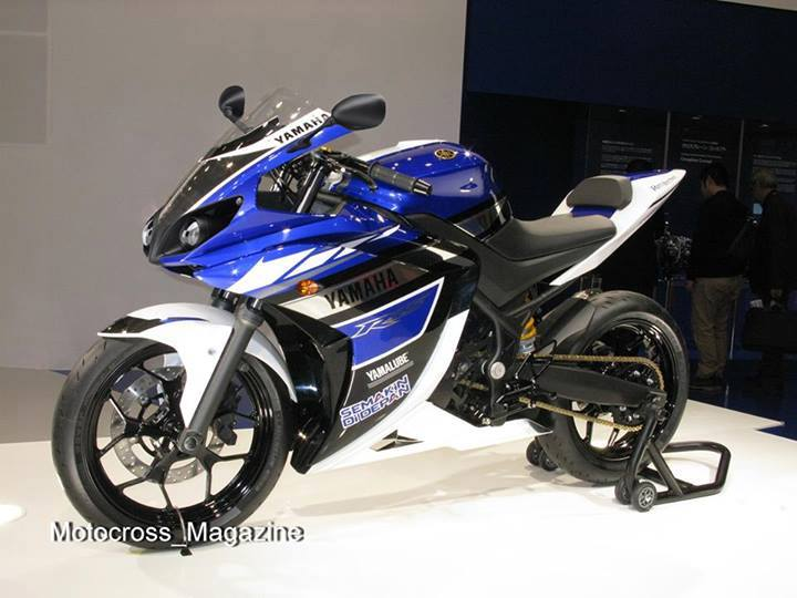 Yamaha yzf r25 production model spotted almost production for Yamaha yzf r25
