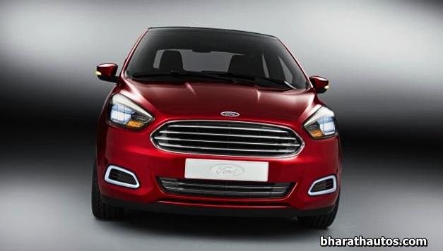 Ford Figo Concept compact sedan unveiled for Auto Expo 2014