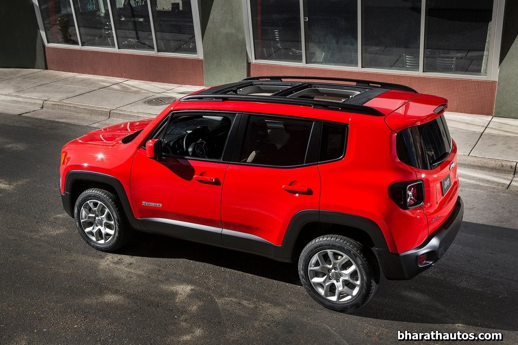 Different Suv Models >> India-bound Jeep Renegade unveiled in Geneva