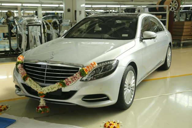 Mercedes benz india announces the local assembly of the for Mercedes benz training program