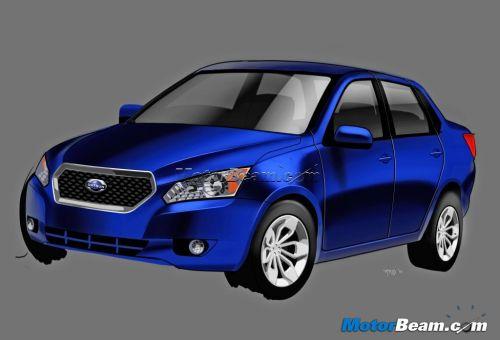 Nissan Plans Compact Sedan Mini Suv India