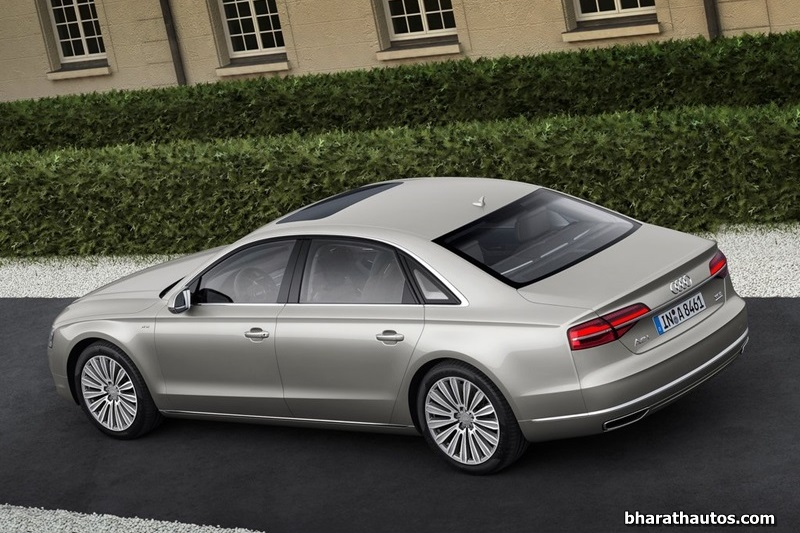 2014 Audi A8l Facelift Launched In India At Rs 1 12 Crores