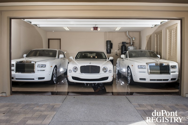 Very impressive car collection by floyd mayweather bharath autos