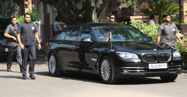Modi Gets A Specially Designed Fleet Of Bmw 7 Series