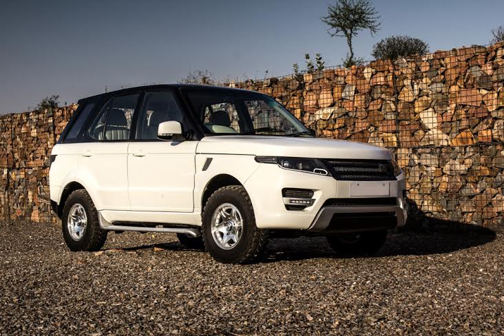 Tata Safari Modified Into A Range Rover Evoque