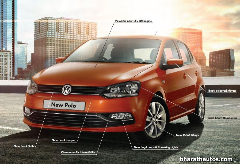 2014 Vw Polo Facelift Launched Starts From Rs 4 99 Lakh