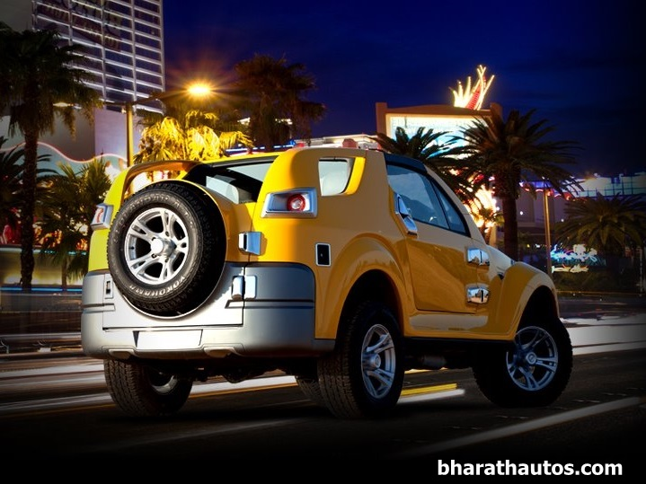 Mahindra Thar Modified By Dc Design