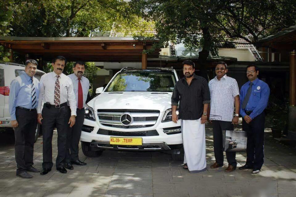 Mohanlal S Brand New Mercedes Benz Gl Class